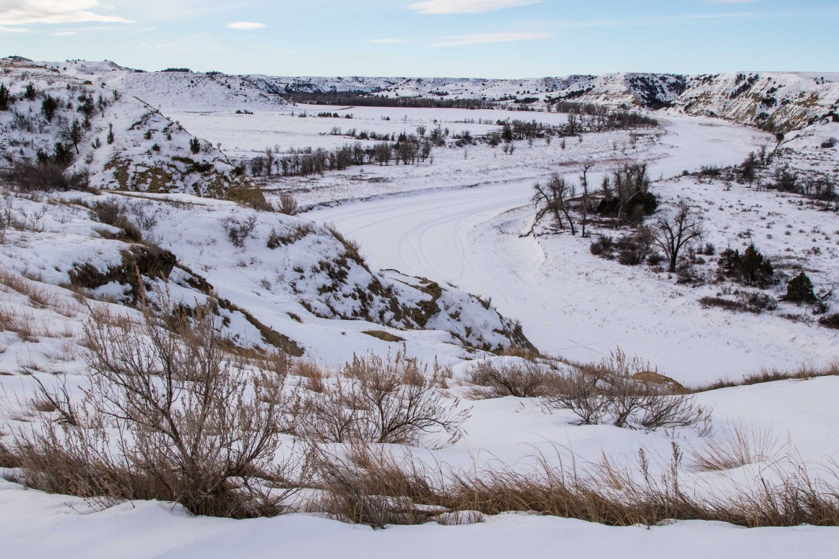 North Dakota In Winter 2017 Traveling With Tom