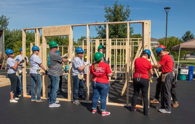 Habitat for Humanity Build-5414