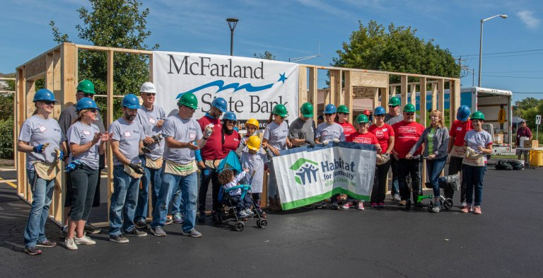 Habitat for Humanity Build-5426